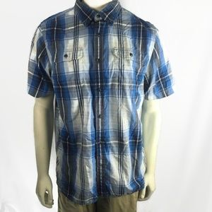 The North Face Button Front Mens Shirt L